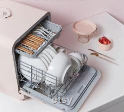 220v Automatic Cleaning Electric China Washer Desk Installation-free Intelligent Dishwasher Washing Machine