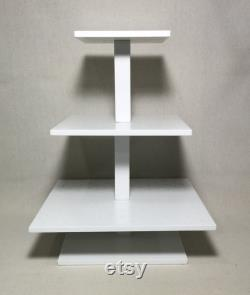 3 Tier Square Custom Made Cake Pop Stand. Own 192 Cake Pops.