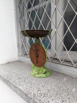 Ancient Cast Iron Salter Scales