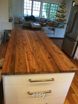 Antique Heart Pine Counter