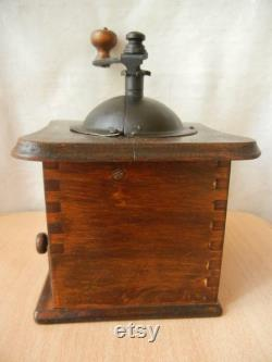 Antique Model Of Antique Coffee MILL Table Box Wooden Table Box Table Box