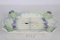Asparagus Serving Plate Fran Ais Antique, Asparagus Plate, Asparagus Dish