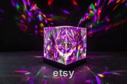 Aurora Borealis Disco Light Cube