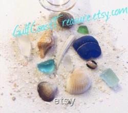 Beach In A Bulk Bottle 20 Glass Filled Vial Of Florida Sand Sea Shells Seaglass, Beach Trinket For Beach Weddings, Beach Party Favors Bulk