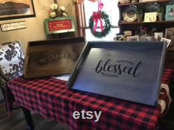 Beautiful Artisanal Farm Style Carved Wood Stove Engraved Covers Noodle Boards Plateau Blessed Gather Farmhouse Country Kitchen