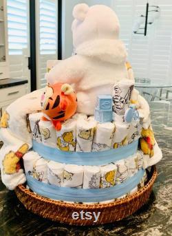 Bevverly S Baby Diaper Cake