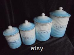 Casseroles Vintage Enamel Fran Ais Pots Blue White Kitchen S Speis Pots Pots Pots