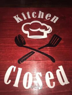 Closed Kitchen Stove Lid, Serving Tray, Noodle Panel, Kitchen Décor