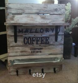 Coffee Bar Sign, Coffee Station, Coffee Sign, Coffee Basket Sign, Coffee Bar Decoration, Coffee Cup Holder, Coffee Bar Holder, Coffee Bar Holder, Coffee Cup Holder