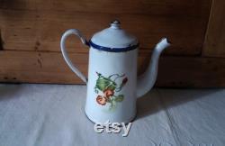 Coffee Maker Old Coffee Maker Enamelled Vintage Coffee Maker Vintage Fran Ais Enamel French Coffee Pot