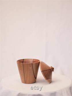 European Oak, Decorative Wooden Box With Handmade LID