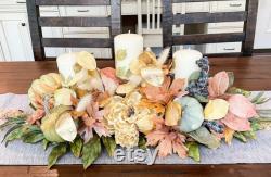 Fall Masterpiece, Autumn Masterpiece, Autumn Table Décor, Large Floral Masterpiece, Thanksgiving Masterpiece, Thanksgiving Masterpiece