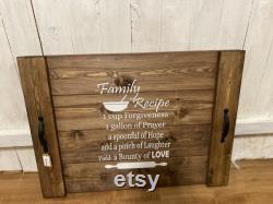 Farm Decor Noodle Stove Edge Blanket. Family Recipe. Ideal For The Housewarming Gift. Farm Plateau. Oven Lid.