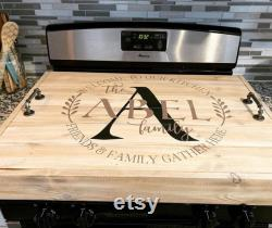 Farm Stove Cover Noodle Board Welcome To Our Kitchen