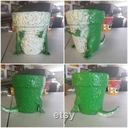 Hand-painted Clay Pot Of Toy Story (5 )