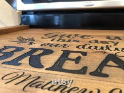 High Quality Noodle Engraved Tray Cover