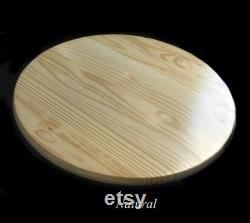Large Lazy Susan Platinum 24 Inches Lazy Susan Lazy Wood Susan Blue Kitchen Décor Dining Room Table Centerpiece Wedding Gift Gift Gift Unique Gift