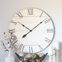 Large Wall Clock Farm Living Room Decoration Fireplace Decoration Over Modern Home Decor Unique Gift Idea Farm Horloge Of 25 30 Emma