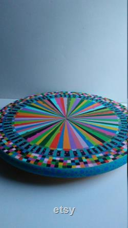 Lazy Susan Hand-painted