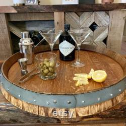 Lazy Wine Barrel Susan