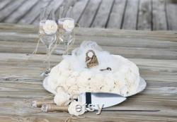 Love Lock Unity Wedding Ceremony Centerpieces With Personalized Metal Padlock Rustic Wedding