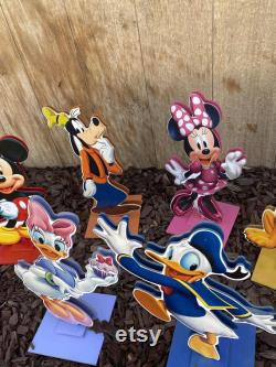 Mickey Mouse And His Friends Centerpieces Disney Club House Centerpieces Of Great Pieces