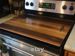 Noodle Board, Stove Lid, Black Walnut Stove Lid, Gas Stove Lid, Electric Stove LID