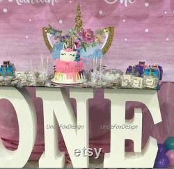 One Letters 3-letter Giant Foam Table Base Letters 3d Baby Shower Letters A Freestanding Letters 30 Inches High 8 Inches Deep