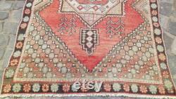 Oushak Carpet, Home Rug, Floor Mat, Area Rug, Turkish Rugs, Vintage Carpet, Kilim Rug, Runner's Carpet, Handmade Carpet, Boho Rug, Living Room Rug
