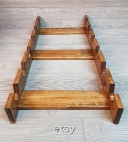 Rack Pastry Roll With Six Slots Rack Multiple Pastry Roll Pastry Roll Holder Pastry Roll Storage Rack Pastry Roll For 6