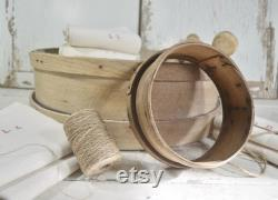 Rare Antique Fran Ais Baby Grain Tamis Primitive Fran Ais 19cm Diameter