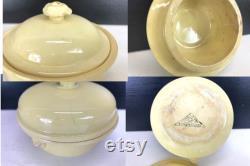 Set Of 6 Ancient Fran Ais Terrines, Frozen Pots, Foie Gras Pots, Lion's Head Handles, Kitchenalia, Country Kitchen