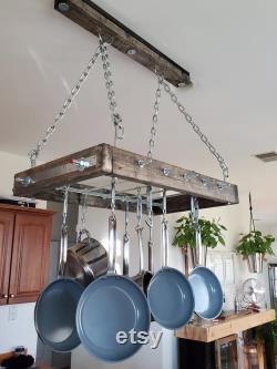 Suspended Pot Rack