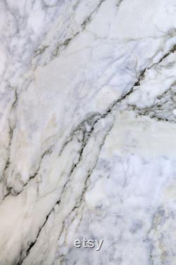 Tensho Three Table Medium In Special Carrara Marble,