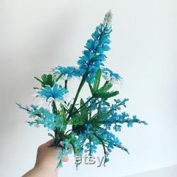 Texas Wildflower Decor Blue Fran Ais Pearl Flowers Arrangement Bouquet Arrangement