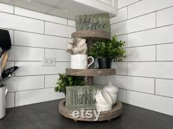 Three Levels Tray By Thechalkshop