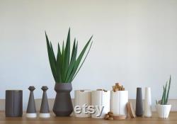 Vases, Ceramic Vase, Modern Minimalist Rooms In The Center, Scandinavian Flower Vase, Contemporary, Minimal Dining Table, Ceramic, Pottery Vases