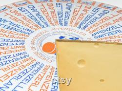 Vintage 80s Appenzell Swiss Cheese Shop Display, Cheese Wedge, Cheese Dummy Replica, Shop Display Advertising, Retro Food Shop Decor Kitchen