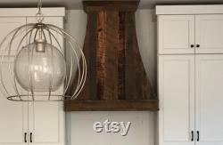 Wood Recovered Custom Range Hood