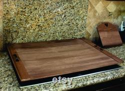 Accueil Sweet Home, Custom Rustic Stove Top Cover, Décor de ferme, Noodle Board, Rustic Living, Kitchen Decor, Mait de service -21215-TRAY-051