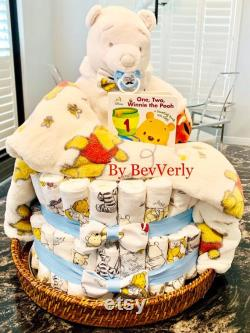 BevVerly s Baby Diaper Cake L ourson