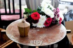 Chêne européen, boîte décorative en bois avec couvercle Fait main