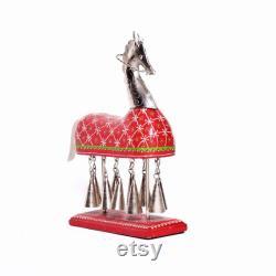 Cloche de cheval en bois fabriquée à la main, livraison express disponible