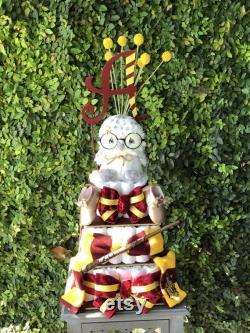 Douche de bébé Harry Potter Gryffindor Hermione Wand Couche Cake