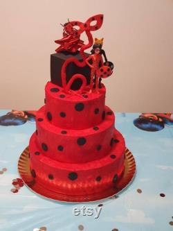 Gâteau de coccinelle