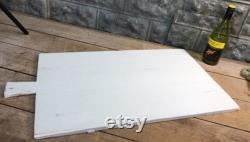 Grande planche à pain Fran ais vintage, Planche à pain rectangle, Planche à découper en bois G31 Planche à découper, Butcher Board, Serving Board, Charcuterie