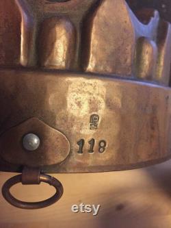 Moule en cuivre victorienne antique