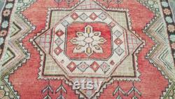 Oushak tapis, tapis à la maison, tapis de sol, tapis de secteur, tapis turcs, tapis vintage, tapis de kilim, tapis de coureur, tapis fait main, tapis de boho, tapis de salle de séjour