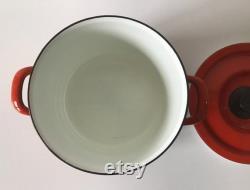 Petite Arabie Finel Neptun pot émaillé Made in Finland Kaj Franck Esteri Tomula Mid century design classic