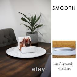 Pièce maîtresse de table à manger, pièce maîtresse de table, pièce maîtresse de marbre, décor de table de salle à manger, Susan paresseux pour la table à manger, 20 pouces Lazy Susan